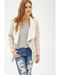 Forever 21 Contemporary Faux Shearling Jacket
