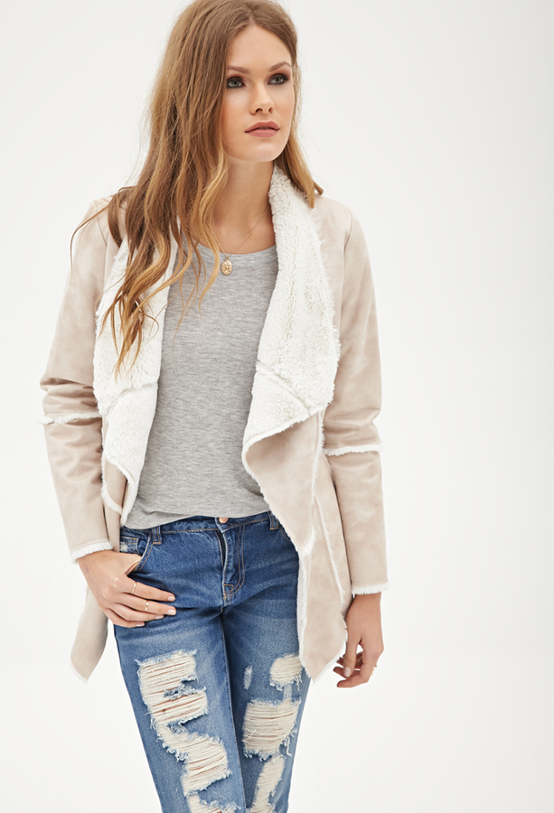 Forever 21 Contemporary Faux Shearling Jacket | Where to buy &amp how