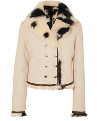 Chloé Reversible Double Breasted Shearling Jacket