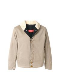 Gianfranco Ferre Vintage Shearling Effect Collar Jacket