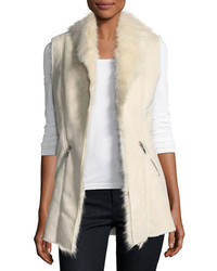 Dolce cabo faux shearling vest medium 6754459