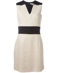 Carven Panelled Fitted Dress