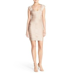 Miami spotlight metallic bandage dress medium 517668