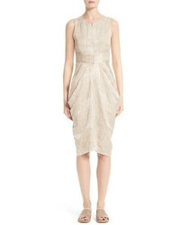 Zero maria cornejo eve shreya doppio jacquard dress medium 1151021