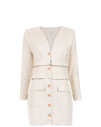 Lilly Sarti Buttoned Dress