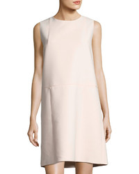 Vilma cotton blend shift dress sea pearl medium 3769382