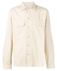 Ami Paris Camp Collar Overshirt