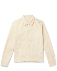 YMC Linen And Cotton Blend Canvas Shirt Jacket