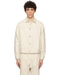 rag & bone Off White Hemp Shop Jacket