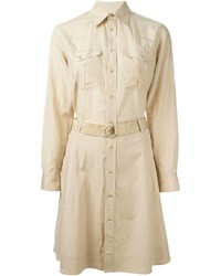 Ralph Lauren Black Belted Shirt Dress