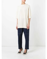 Marni Drawstring Collar Blouse