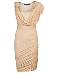 Plein Sud Jeanius Drape Sleeve Dress
