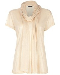 Ralph Lauren Scarf Neck Top