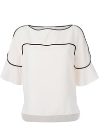 See by Chloe See By Chlo Contrasting Trim Blouse