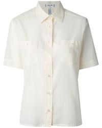 Celine cline vintage chest pocket shirt medium 205945