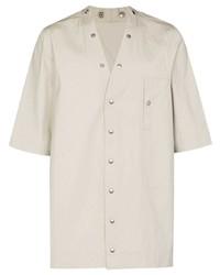 Rick Owens Shaun Short Sleeve Shirt