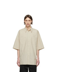 Givenchy Tan Oversize Patch Shirt