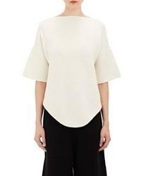 LAUREN MANOOGIAN Dovetail Short Sleeve Sweater
