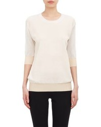 Jil Sander Mixed Knit Sweater