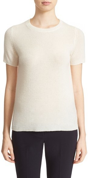087aae8e414 Theory Tolleree B Short Sleeve Cashmere Sweater, $215 | Nordstrom ...