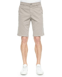 AG Jeans Ag Griffin Flat Front Shorts Khaki