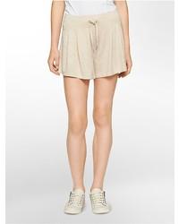 Calvin Klein Performance Pleated Shorts