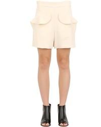 Chloé Textured Light Cady Shorts