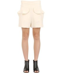 Chloé Textured Light Cady Shorts