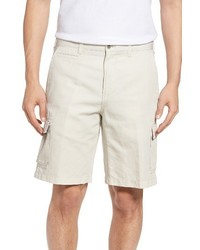 Coastal linen blend cargo shorts medium 1161785
