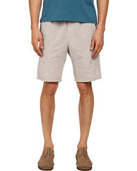 Vince Linen Cotton Drawstring Shorts Shorts