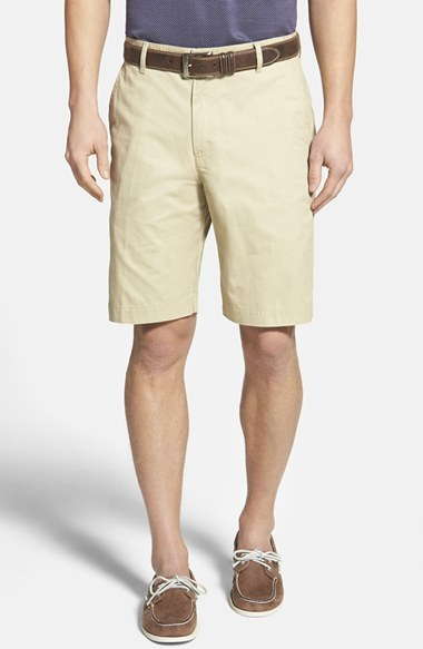 Bills Khakis Parker Standard Fit Flat Front Island Twill Shorts ...