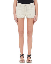 Zadig Et Voltaire Zadig Et Voltaire Pierre Studded Twill Shorts