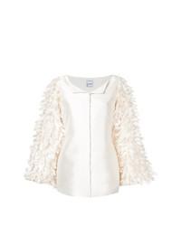 Pearl feather jacket medium 8308867