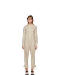 Isabel Marant Off White Silk Tacaia Jumpsuit