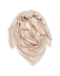 Valentino Optical Silk Wool Shawl