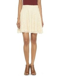 Beige skater skirt original 1485969