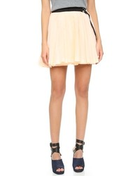 Band Of Outsiders Pleated Wrap Skirt