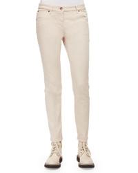 Five pocket skinny jeans vanilla medium 526319