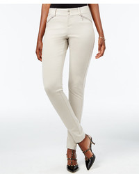 INC International Concepts Curvy Zip Pocket Skinny Pants Only At Macys