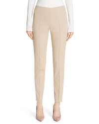 Akris Melissa Slim Techno Cotton Ankle Pants
