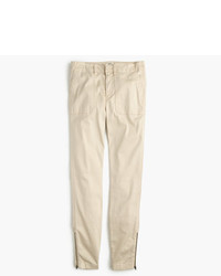 Petite skinny stretch cargo pant with zippers medium 957133
