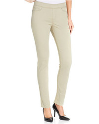 Levi's Skinny Perfectly Slimming Pull On Pants Beige Wash