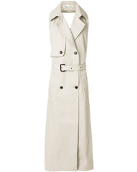 Sleeveless double breasted coat medium 6711174