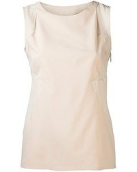 Beige sleeveless top original 4445057