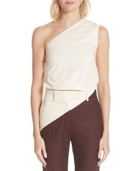 Calvin Klein 205W39nyc Cotton Asymmetrical Top