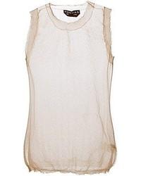 Rochas Sheer Vest Top