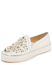 Stuart Weitzman Dcor Slip On Sneakers