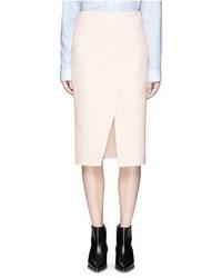 Pau diagonal slit crepe skirt medium 1201432