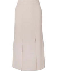 Max Mara Wool Blend Crepe Skirt