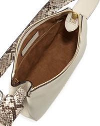 77ed8006ce8d ... Burberry Helmsley Small Python Leather Crossbody Bag Limestone ...